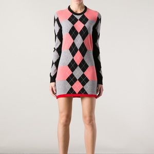 Balenciaga Wool/Cashmere Sweater Dress